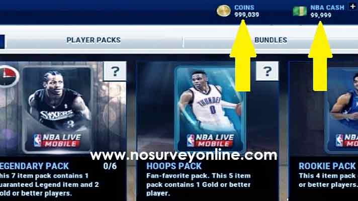 NBA MOBILE HACK NO SURVEY ONLINE