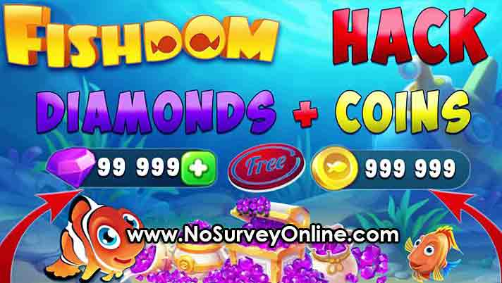 Fishdom Hack Free Coins and Diamonds