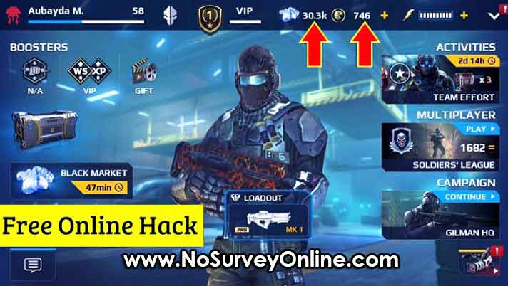 Modern Combat 5 Free Coins Hack