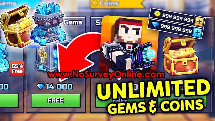 Pixel Gun 3D Hack Unlimited Gems and Coins